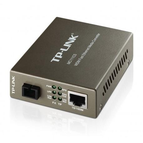 CONVERSOR DE FIBRA TP-LINK MC111CS