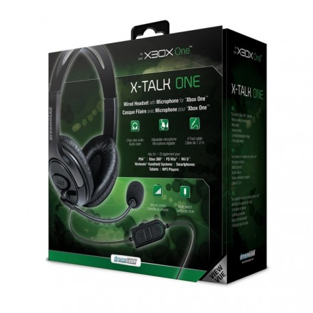 HEADSET DREAMGEAR X-TALK GAMING PRETO