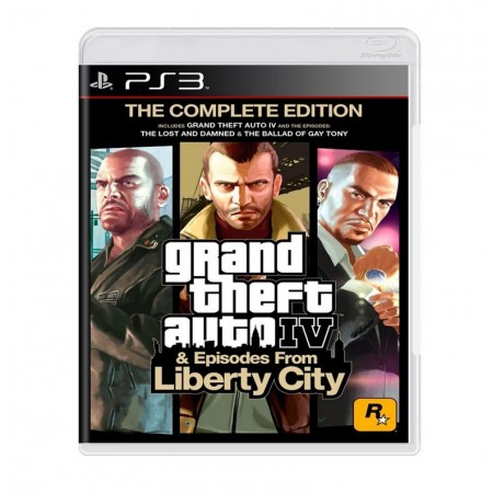 JOGO GRAND THEFT AUTO IV & EPISODES FROM LIBERTY CITY PS3