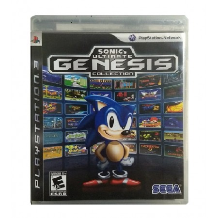JOGO SONIC ULTIMATE GENESIS COLLECTION PS3