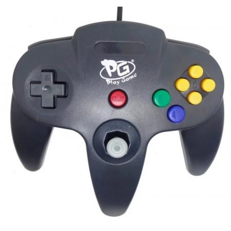 CONTROLE PLAY GAME NINTENDO 64 USB - PRETO