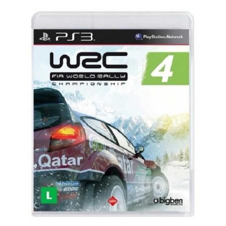 JOGO WRC 4 FIA WORLD RALLY CHAMPIONSHIP - PS3