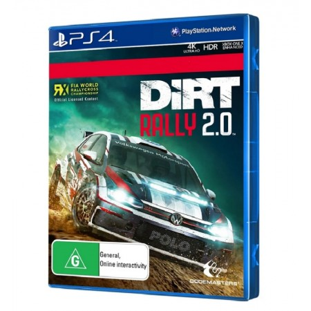 JOGO DIRT RALLY 2.0 PS4