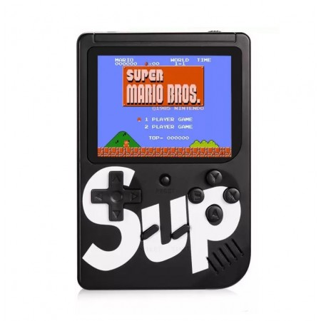 CONSOLE SUP GAME BOX RETRO 400 IN 1 PRETO
