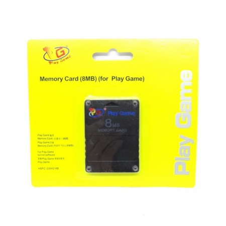 MEMORY CARD PLAY GAME PS2