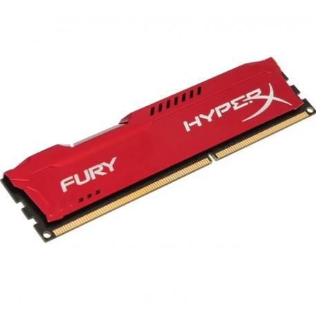 MEMORIA RAM KINGSTON HYPER-X FURY DDR3 / 4GB / 1866MHZ - VERMELHO