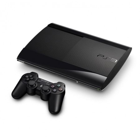 CONSOLE PLAYSTATION 3 SUPER SLIM -  500GB - BLACK USA