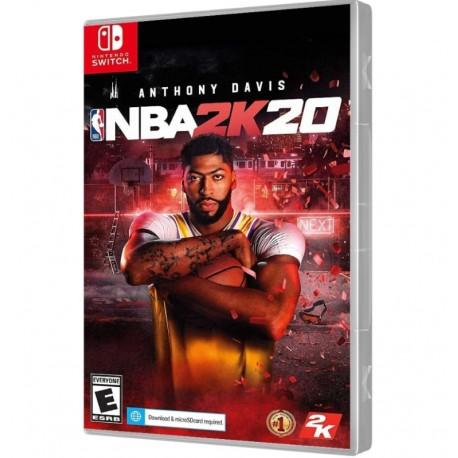 JOGO NBA 2K20 NINTENDO SWITCH