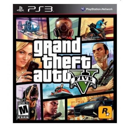 JOGO GRAND THEFT AUTO V GTA PS3