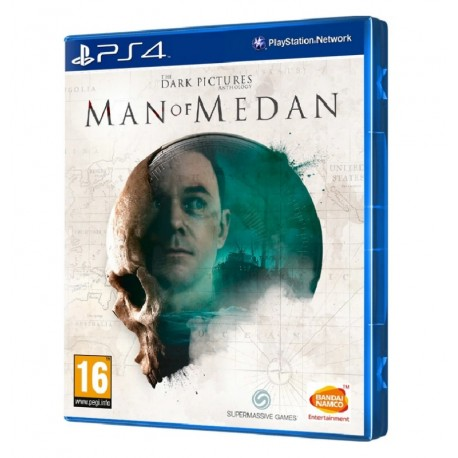 JOGO THE DARK PICTURES ANTHOLOGY MAN OF MEDAN PS4