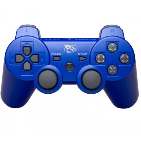 CONTROLE DUALSHOCK 3 PS3 PLAY GAME AZUL