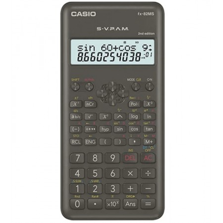 CALCULADORA CIENTIFICA CASIO FX-82MS-2-W NEW EDITION