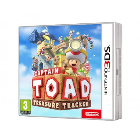 JOGO CAPITAIN TOAD TREASURE TRACKER NINTENDO 3DS
