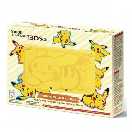 CONSOLE NINTENDO NEW 3DS XL YELLOW PIKACHU EDITION