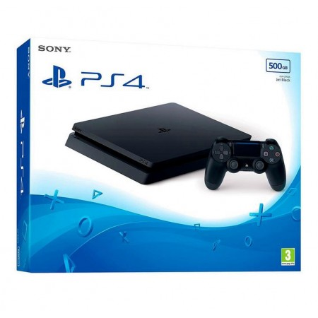 CONSOLE SONY PLAYSTATION 4 SLIM 500GB EUROPEU MODELO 2116