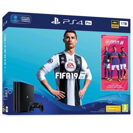 CONSOLE SONY PLAYSTATION 4 PRO 1TB CUH-7116B BUNDLE COM FIFA 19