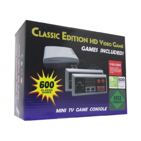 CONSOLE MINI GAME CLASSIC EDITION HD COM 600 JOGOS