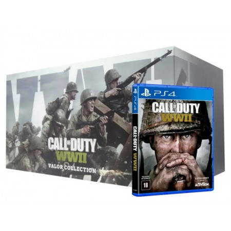 JUEGO CALL OF DUTY WWII VALOR TRIFORCE COLLECTION PS4