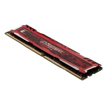 MEMORIA CRUCIAL BALLISTIX SPORT RED DDR4 8GB 2400MHZ
