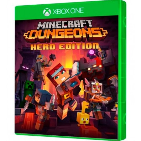 JOGO MINECRAFT DUNGEONS HERO EDITION XBOX ONE