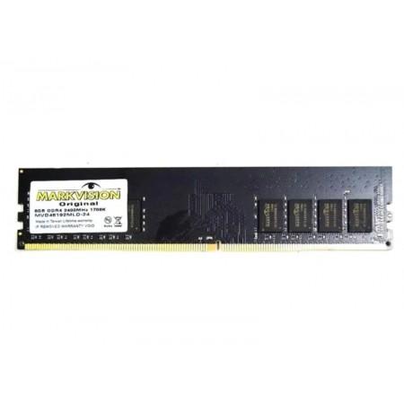 MEMÓRIA RAM MARKVISION 8GB / DDR4 / 2400MHZ / 1X8GB - (MVD48192MLD-24)