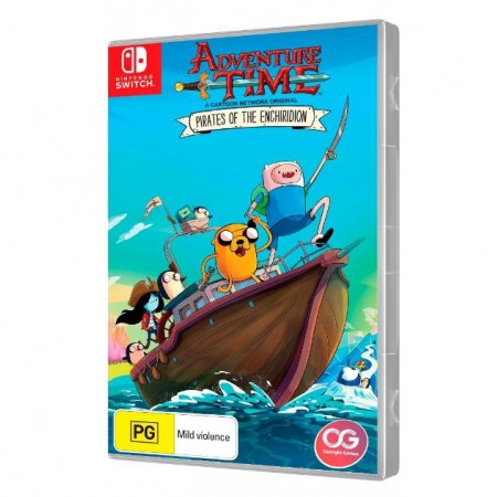 JOGO ADVENTURE TIME PIRATES OF THE ENCHIRIDION NINTENDO SWITCH