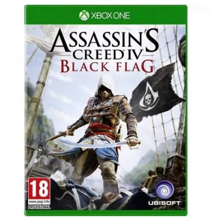 JOGO ASSASINS CREED IV BLACK FLAG XBOX ONE