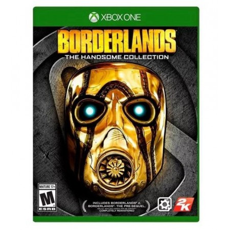 JOGO BORDERLANDS THE HANDSOME COLLECTION XBOX ONE