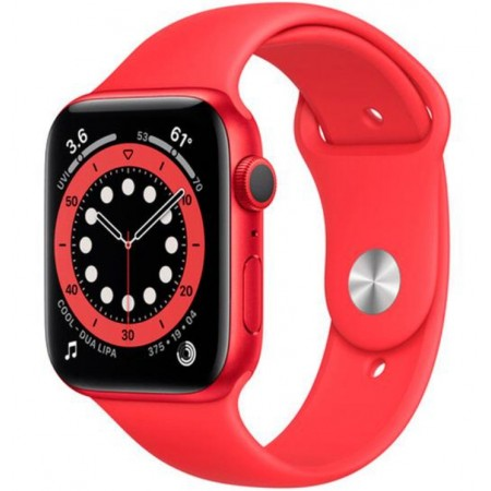 APPLE WATCH S6 40MM M00A3LL/A / GPS / OXÍMETRO - RED ALUMINUM SPORT BAND