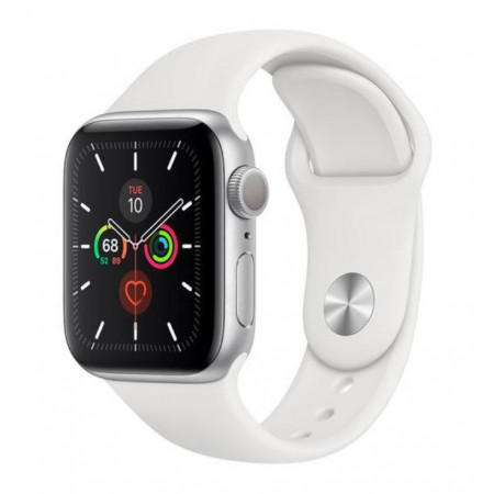 APPLE WATCH S5 MWV62LL/A GPS / 40MM - SILVER SPORT BAND