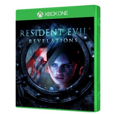 JOGO RESIDENT EVIL REVELATIONS XBOX ONE