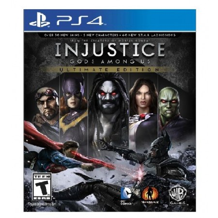 JOGO INJUSTICE GODS AMONG US ULTIMATE PS4