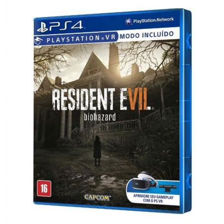 Juego Resident Evil 7 Vr Ps4 Super Games