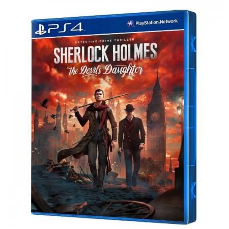 JOGO SHERLOCK HOLMES THE DEVILS DAUGHTER PS4