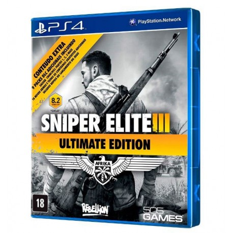 JOGO SNIPER ELITE III ULTIMATE EDITION PS4