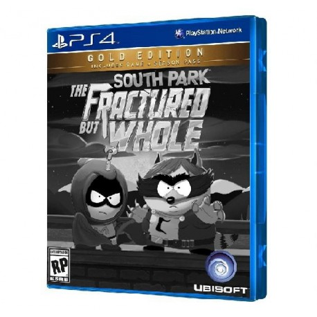 JOGO SOUTH PARK THE FRACTURED BUT WHOLE GOLD EDITION PS4