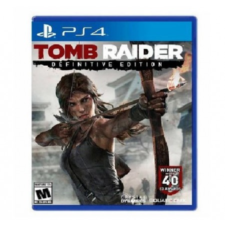 JOGO TOMB RAIDER DEFINITIVE EDITION PS4