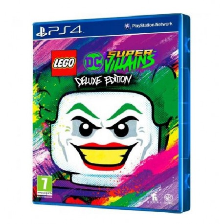 jogo ps4 lego dc super villains deluxe edition