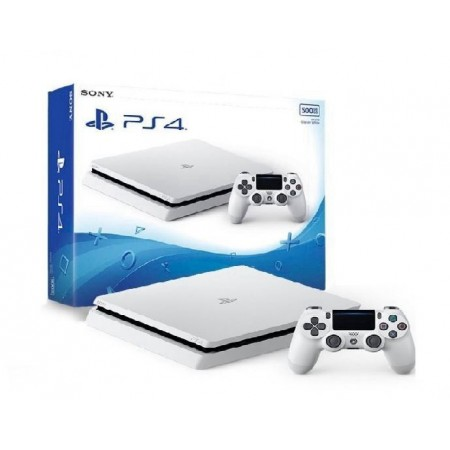 CONSOLE SONY PLAYSTATION 4 SUPER SLIM MODELO 2116A 500G BRANCO