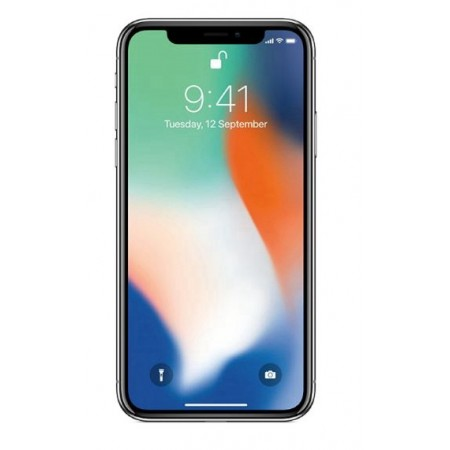 CELULAR APPLE IPHONE X 256GB SILVER 1901BZ