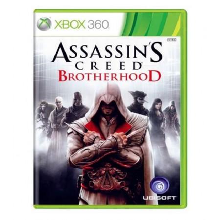 JOGO ASSASSINS CREED BROTHERHOOD XBOX 360