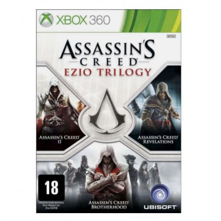 JOGO ASSASSINS CREED EZIO TRILOGY XBOX 360