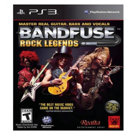 JOGO BANDFUSE ROCK LEGENDS  PS3