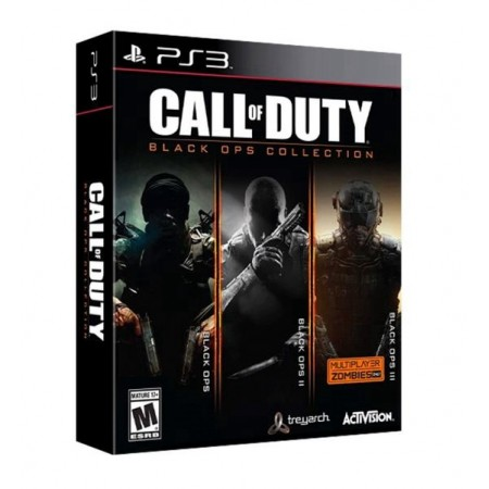 JOGO CALL OF DUTY BLACK OPS COLLECTION PS3