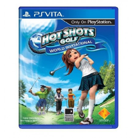 JOGO HOT SHOTS GOLF WORLD INVITATIONAL PS VITA