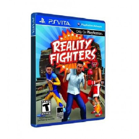JOGO REALITY FIGHTERS PS VITA