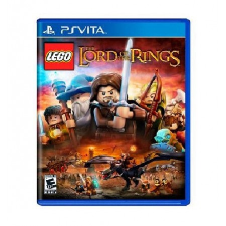 JOGO LEGO THE LORD OF THE RINGS PS VITA