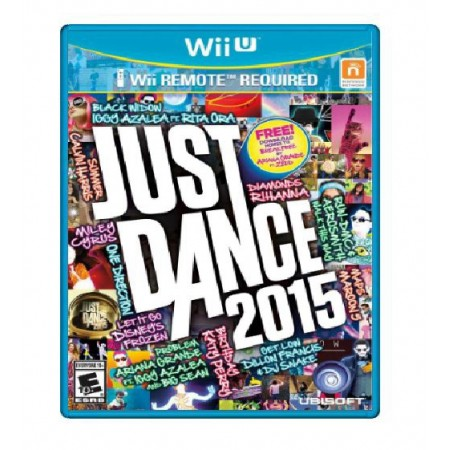 JOGO JUST DANCE 2015 WII U