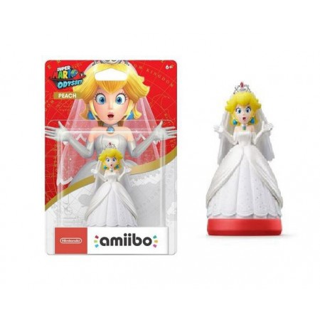 BONECO AMIIBO PEACH WEDDING
