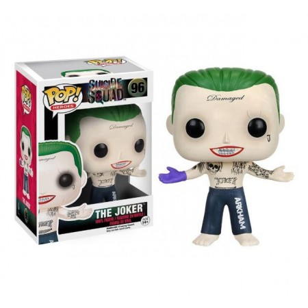BONECO FUNKO POP HEROES SUICIDE SQUAD THE JOKER 96
